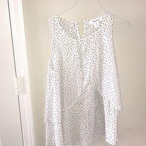 Motherhood Maternity polkadots blouse